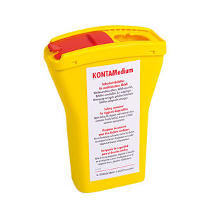 Naaldencontainer Kontamedium