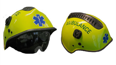 Ambulancehelm van Pacific